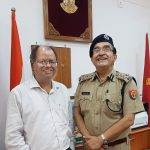 With IGP Mr. Singh