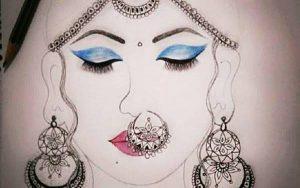 Impressive Art Work by Arti Chauhan of Class XII