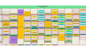 Laurels International School's Year Planner