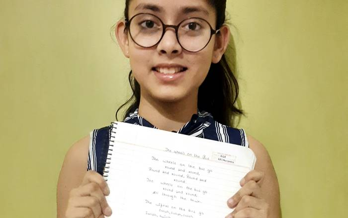 Labh, Laxmi Among Handwriting Winners